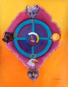 A Medicine Wheel